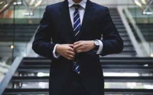 銀行員スーツ